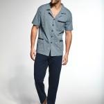Pánské rozepínané pyžamo Cornette 318/33 kr/r S-2XL