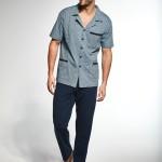 Pánské rozepínané pyžamo Cornette 318/34 M-2XL