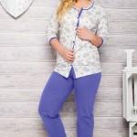 Dámské pyžamo 2126 blue