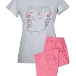 Dámské pyžamo Muzzy 9279-317 kr/r M-XL