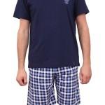 Pánské pyžamo 00-15-7405-422 modrá – Vamp