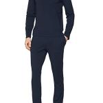 Pánské pyžamo 111848 9P720 černá – Emporio Armani