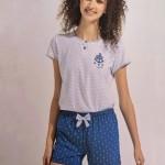 Dámské krátké pyžamo FA6760 – Noidinotte
