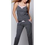 Dámské pyžamo Evelyne šedá – Sensis