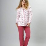 Dámské pyžamo M-Max Rica 770 dl/r S-2XL