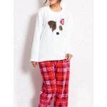 Dámské pyžamo Pes Flíček 3337 – Vienetta