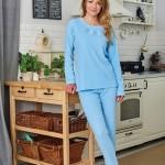 Dámské pyžamo Regina Frotte 741 S-XL dł/r