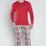 Pánské pyžamo Italian Fashion Rikardo dł.r. dł.sp.