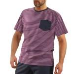 Pánské pyžamo s krátkými rukávy 05