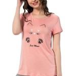 Dámské pyžamo 1127 Lovely cat růžové
