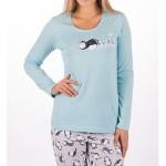 Dámské pyžamo Tučňák na sněhu 0087 – Vienetta