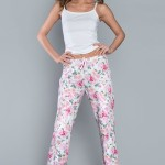 Dámské pyžamové kalhoty Italian Fashion Peonia dł.sp.