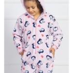 Dětský overal dlouhý Malí tučňáci
