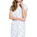 Dívčí noční košile Inka šedá