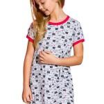 Dívčí noční košile Pepa kočičky