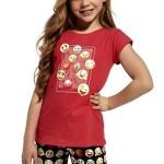 Dívčí pyžamo 787/64 Kids Emoticon