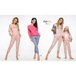 Dlouhé dámské pyžamo 2314 MOLLY S-XL 2019/2020 J