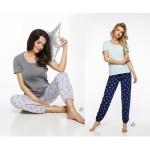 Dlouhé dámské pyžamo 2324 ELI S-XL 2019/2020 J