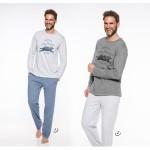 Pánské pyžamo – dlouhé 1006 KAROL S-M 2019-2020 J
