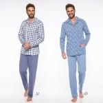 Pánské pyžamo – dlouhé 1009 GRACJAN 2XL-3XL 2019-2020 J