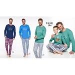 Pánské pyžamo – dlouhé 2264 LEO M-2XL 2019-2020 J
