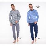 Pánské pyžamo – dlouhé 374 MAX S-M 2019-2020 J