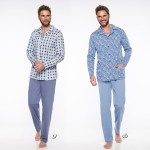 Pánské pyžamo – dlouhé 788 GRACJAN 4XL-6XL 2019-2020 J