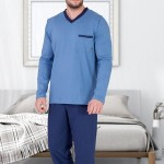 Pánské pyžamo M-Max Edwin 661 dł/r M-2XL