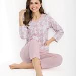 Dámské pyžamo Luna 458 dl/r 3XL-4XL
