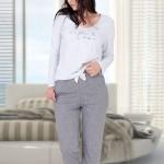 Dámské pyžamo M-Max Dobrawa 674 dł/r S-XL