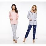 Dlouhé dámské pyžamo 2122 FABIA M-XL 2019/2020 J