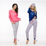 Dlouhé dámské pyžamo 2124 NORA S-XL 2019/2020 J