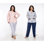 Dlouhé dámské pyžamo 2126 FABIA 2XL-3XL 2019/2020 J