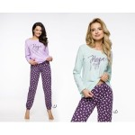 Dlouhé dámské pyžamo 2230 JULA S-XL 2019/2020 J