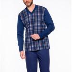 Pánské pyžamo Taro Roman 004 dł/r 2XL-3XL '20