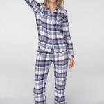 Dámské pyžamo Key LNS 406 B19 dł/r 2XL
