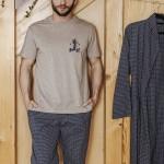 Pánské pyžamo MNS 043 B19