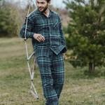 Pánské pyžamo MNS 048 B19 3XL-4XL