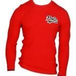 Pánské pyžamové tričko 714754014003 červená – Ralph Lauren