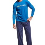 Pánské pyžamo 37300 Worth blue