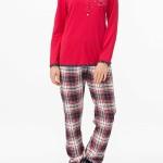Dámské pyžamo 11443-149 červená – Vamp