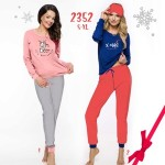 Dámské pyžamo 2352 (CHRISTMAS) ZIMA S-XL