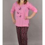 Dámské pyžamo Motýli na louce – Vienetta