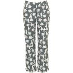 Dámské pyžamové kalhoty QS6028E-VFM zelenobéžová – Calvin Klein