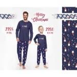 Dlouhé pánské pyžamo 2358 (Trpaslíci) M-2XL