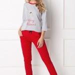 Dámské pyžamo Aruelle Cookie Long 3/4 S-XL