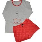 Dámské pyžamo Aruelle Cookie Short 3/4 S-XL