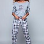 Dámské pyžamo Mary šedá – Sensis