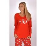 Dámské – dívčí pyžamo dlouhé Tučňáci – Vienetta