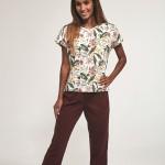 Dámské pyžamo Cornette 372/171 Laura kr/r S-2XL